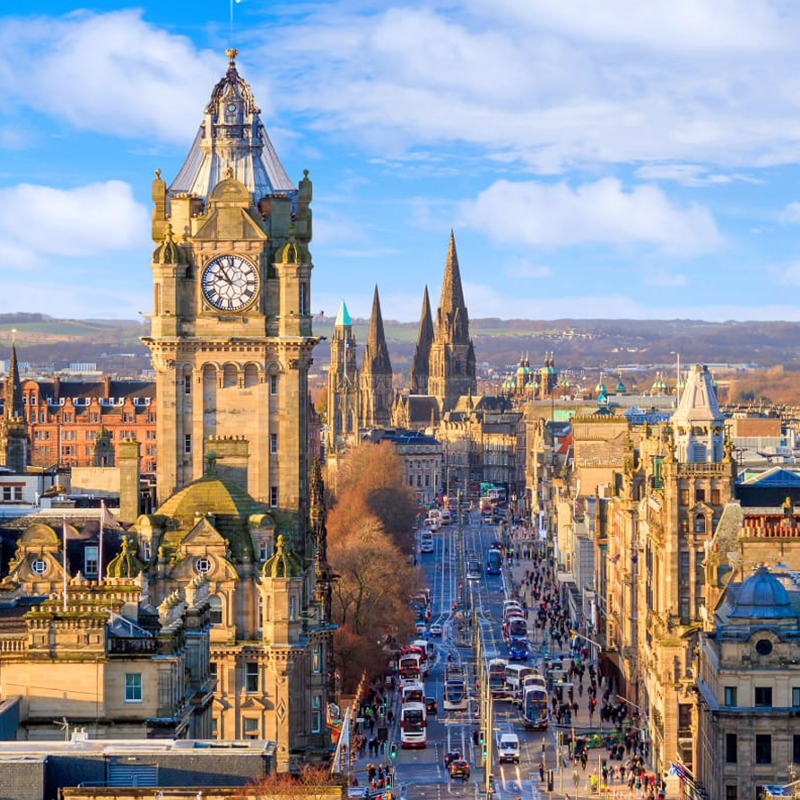 tabara de limba engleza din Edinburgh scotia _ alsys travel